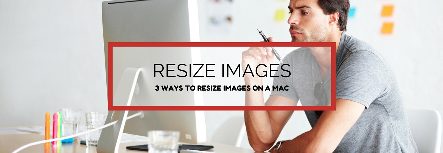 Resize images on Mac OS X